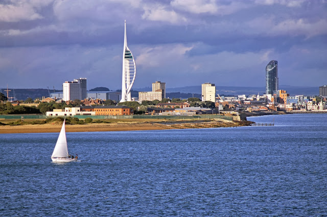 Wall art print of Spinnaker Tower