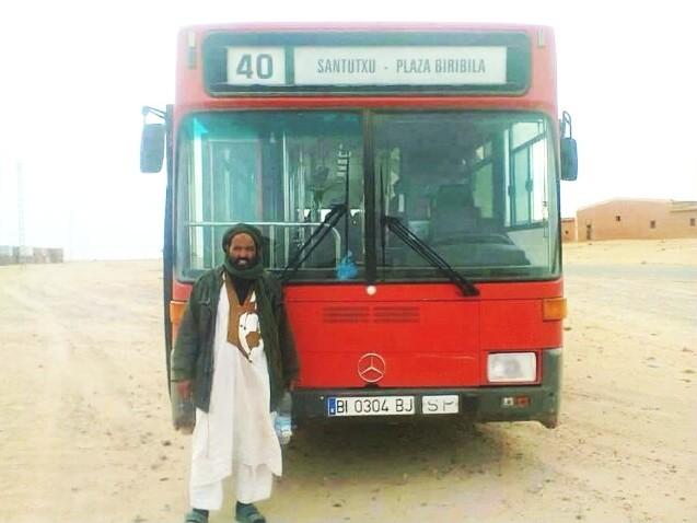 autobús,Sahara,Bilbao
