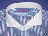 kemeja cutaway collar