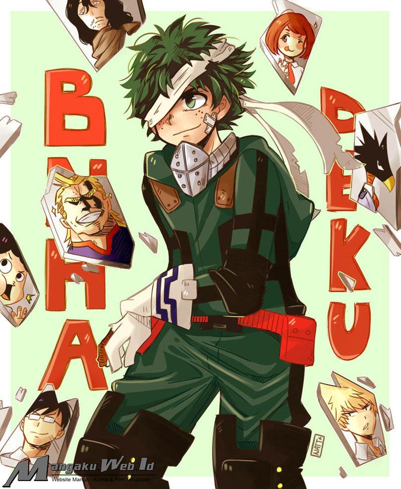 Boku no Hero Academia Chapter 141-18