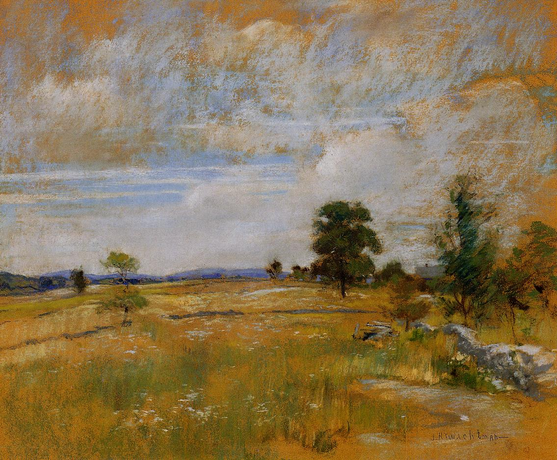 Luis Colan Inspired By John Henry Twachtman