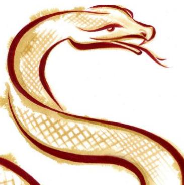 chinese art snake - photo #16