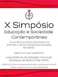 X Simpósio Educação e Sociedade Contemporânea