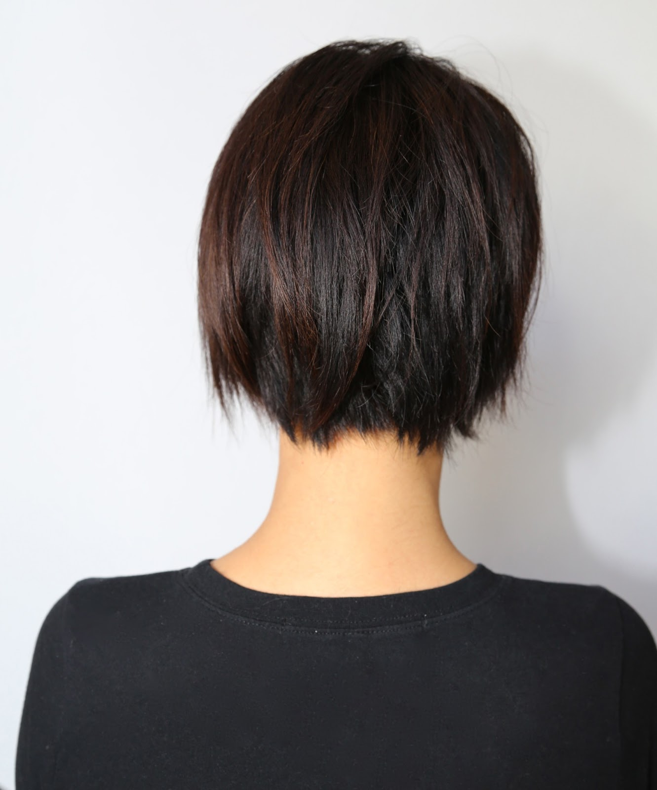 Haircut short bob youtube