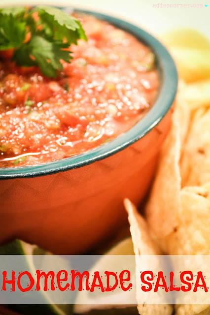 Hot 'n Sweet Homemade Salsa!