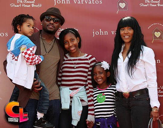 Photo of Omar Epps & his  Son  Amir Epps