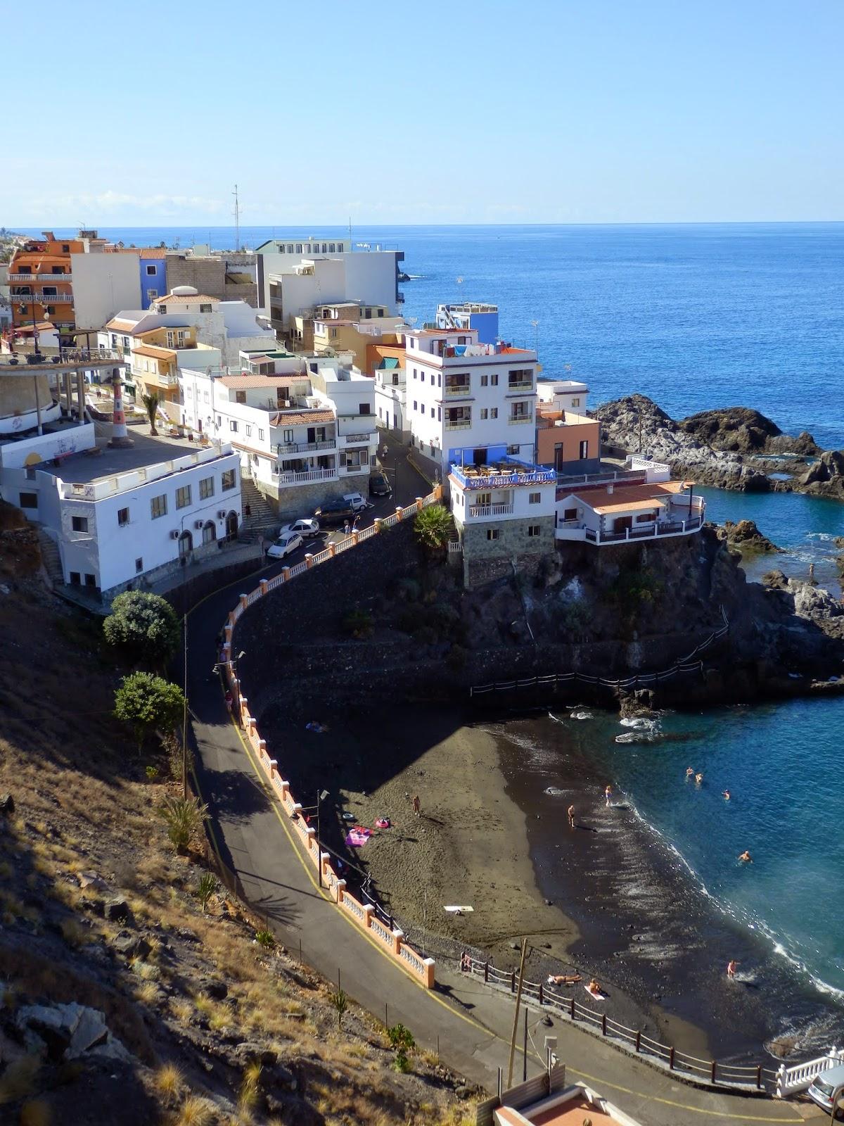 Hill at Puerto Santiago village Tenerife