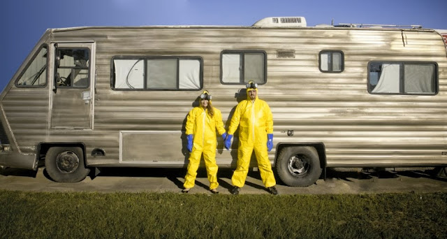 Boda inspirada en Breaking Bad
