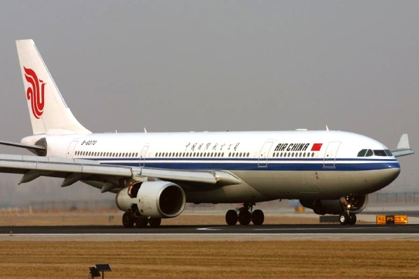 Pesawat Airbus A330 Maskapai Air China