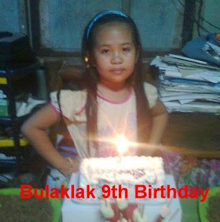 Bulaklak 9th birthday