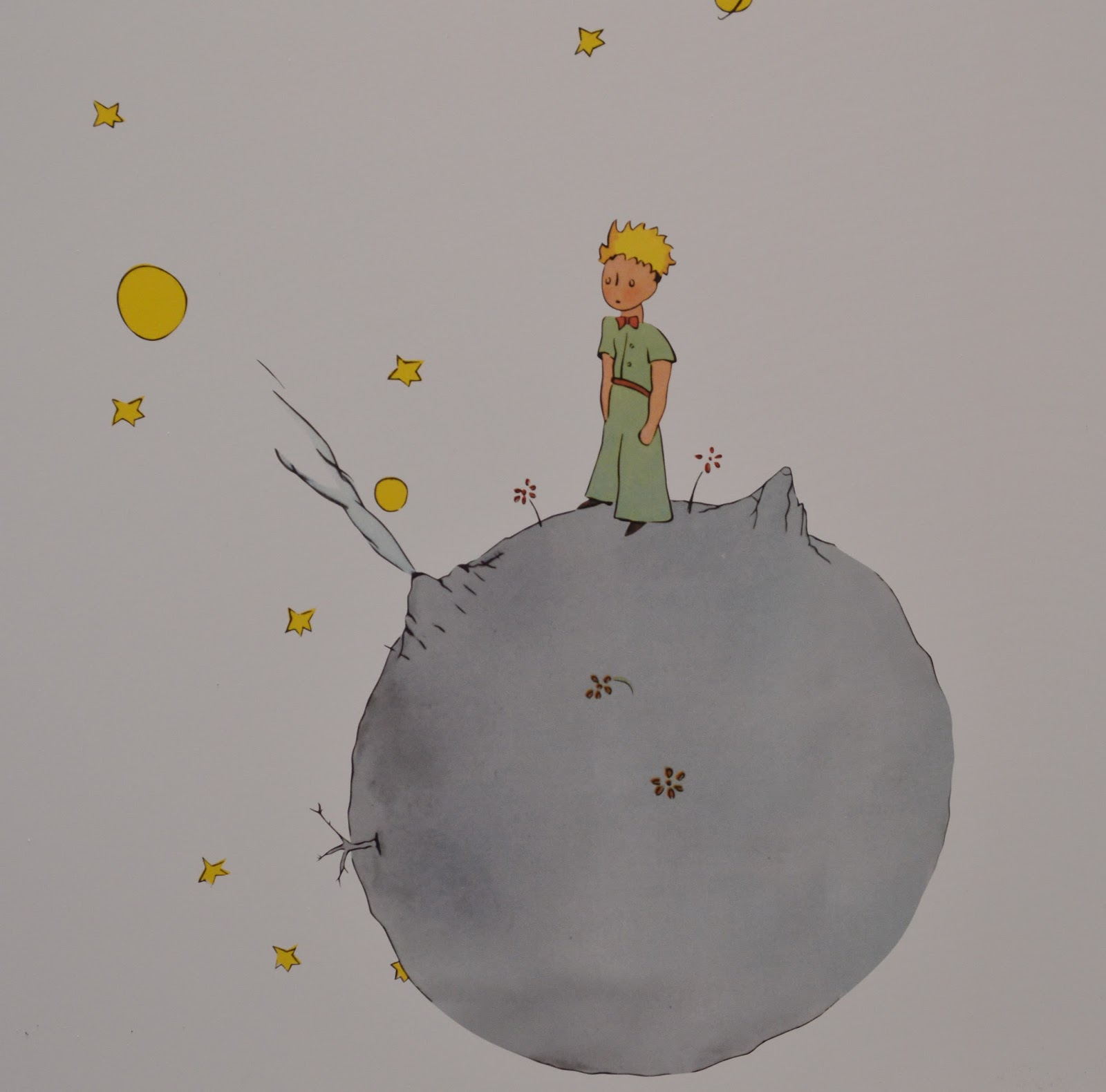 earth and little prince Exercise 7: in the little prince, the prince visits a small asteroid called b612 if if asteroid b612 has a radius on only 200 m and a mass of 100 x lo4 kg, what is the.