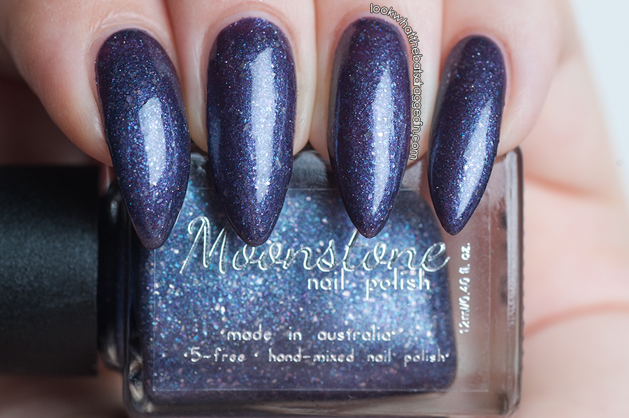 Moonstone Nail Polish Wicked Witches Collection Bellatrix