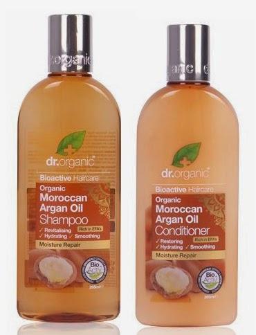 dr organic aceite de argan champu acondicionador