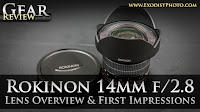Rokinon 14mm f/2.8 ED AS IF UMC Lens Overview & First Impressions | Joe's Videos