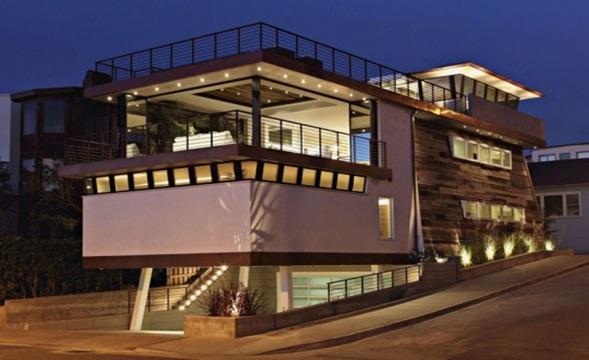 casa de playa con piscina , diseño casa de playa , interior casa de