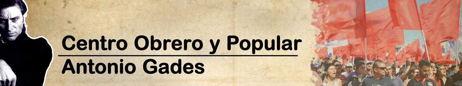 Centro Obrero y Popular Antonio Gades