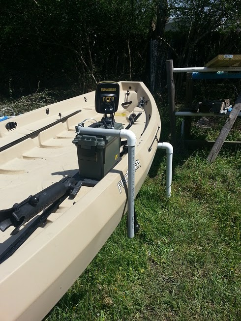 nobody's kayak tips: portable fish finder, Fish Finder