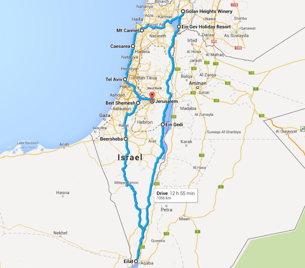 Pasture Living Travel Israel Shephelah Negev Desert Judah - Negev desert map