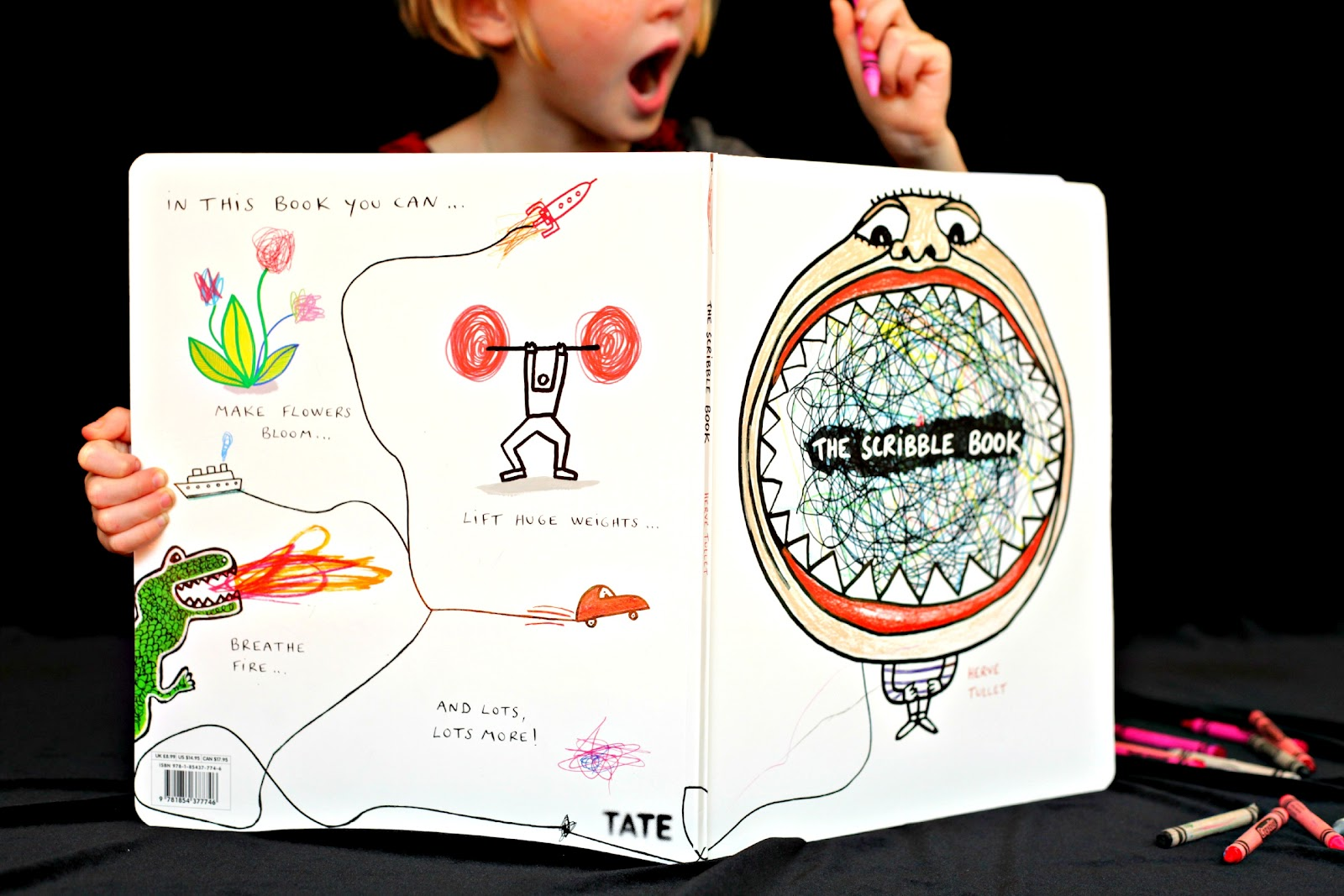 Scribbles Drawing Book : No big dill out chapter the scribbling book