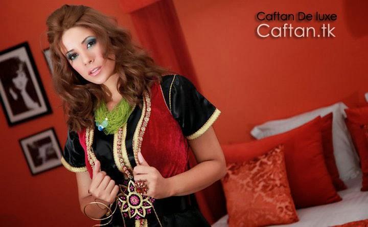 robe-marocaine-takchita-noir-deux-pièce