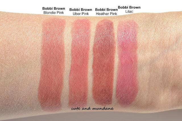 Cute and Mundane: Bobbi Brown Rich Lip Color in Uber Pink