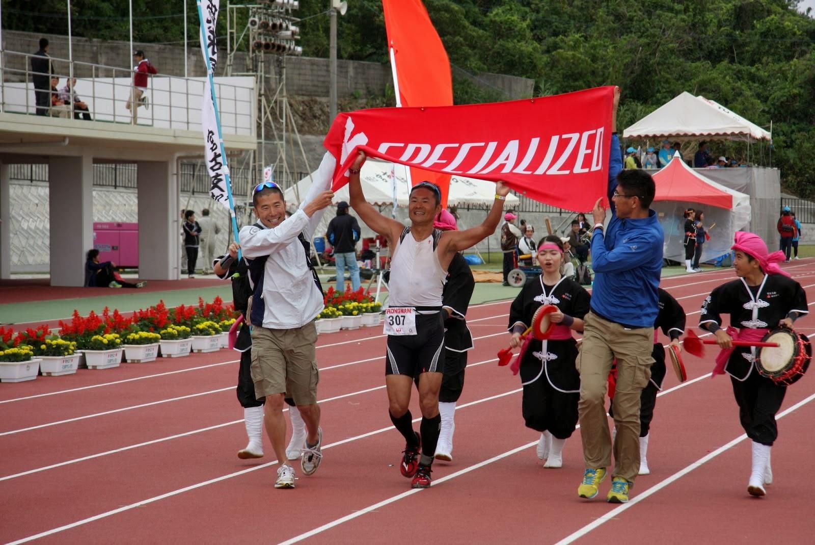 第29回トライアスロン宮古島大会は8時間20分でゴールした