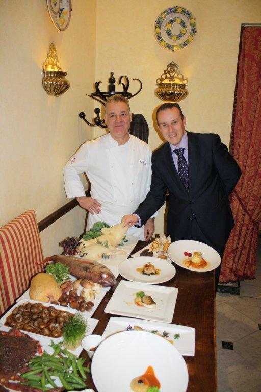 La taberna del alabardero roberto hierro chef ejecutivo for Jefe de cocina alicante