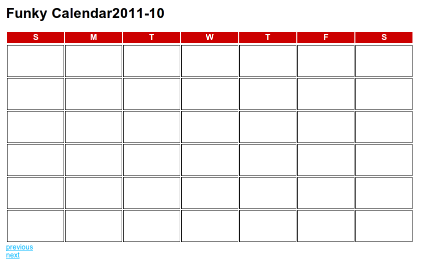 Blank Calendar 2015 Printable No Weekends | Calendar Template 2016
