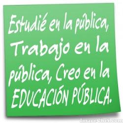 Defiendo la escuela pública