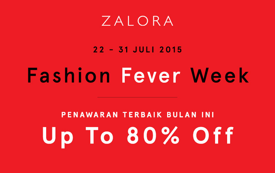 FASHION FEVER WEEK UP TO 80% OFF