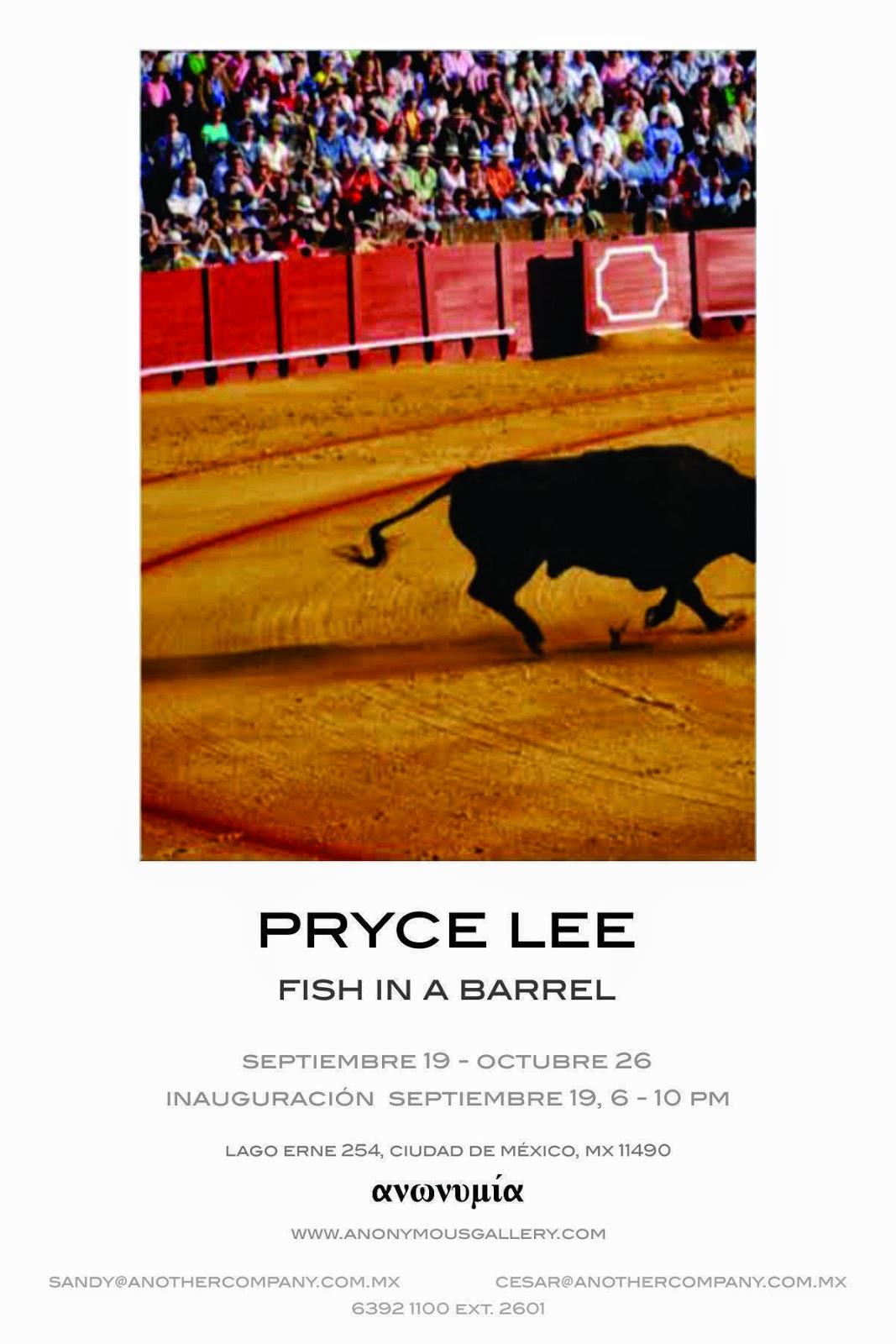 """""""Fish in a Barrel"""", primera exposición individual en México de Pryce Lee"""