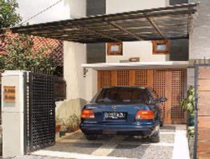 Contoh Desain Garasi Rumah Minimalis