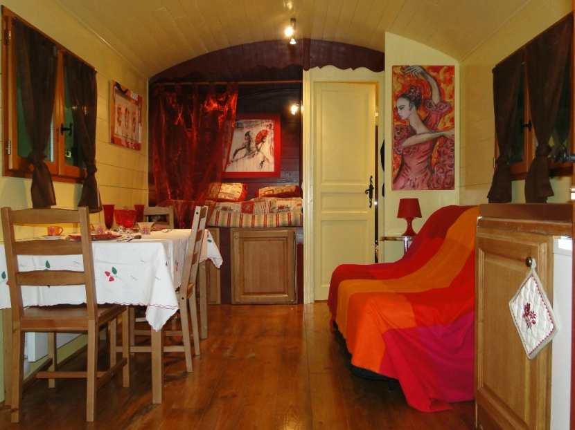 Casa su Ruote - esempio di arredamento interno