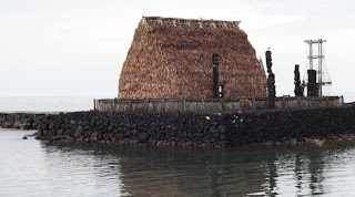 'Ahu'ena Heiau, the personal temple of King Kamehameha the Great