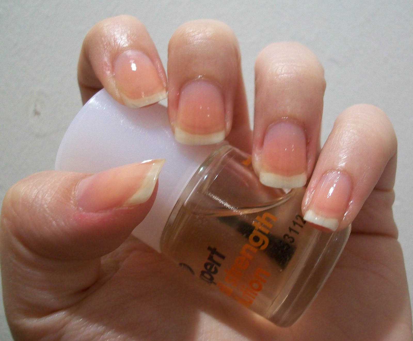 The Colour and The Sparkle: Nail Files: Bare All Tag
