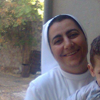 Alep - le 16 Janvier 2013 - Nous signalons que Sr <b>Rima Nasri</b>, un exemple de ... - Sr+Rima