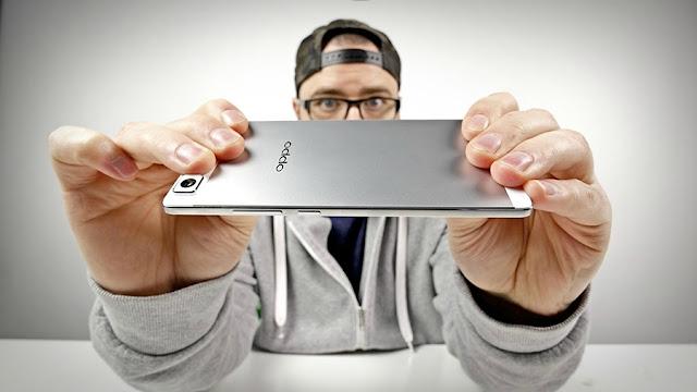 OPPO R5: Smartphone tertipis di Dunia