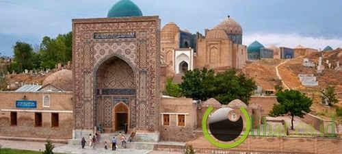 Shah-i-zinda, Uzbekistan