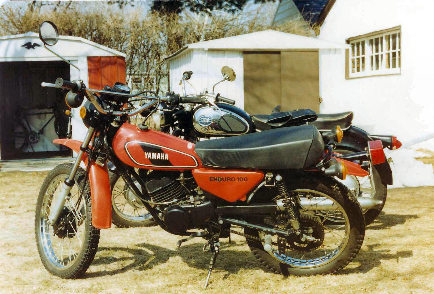 1980 Yamaha 100 Enduro