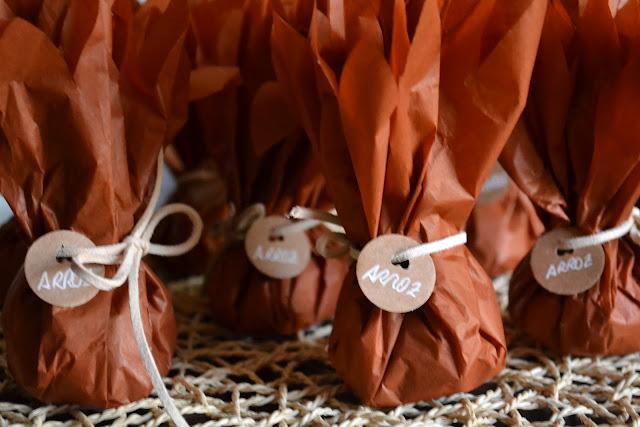 paquete de arroz para boda