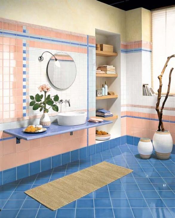 Ideas de dise o de ba os con azulejos cer micos y for Azulejos ceramicos