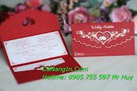 In thiệp cưới thiệp mời lấy gấp nhanh tại đà nẵng 0905 755 597