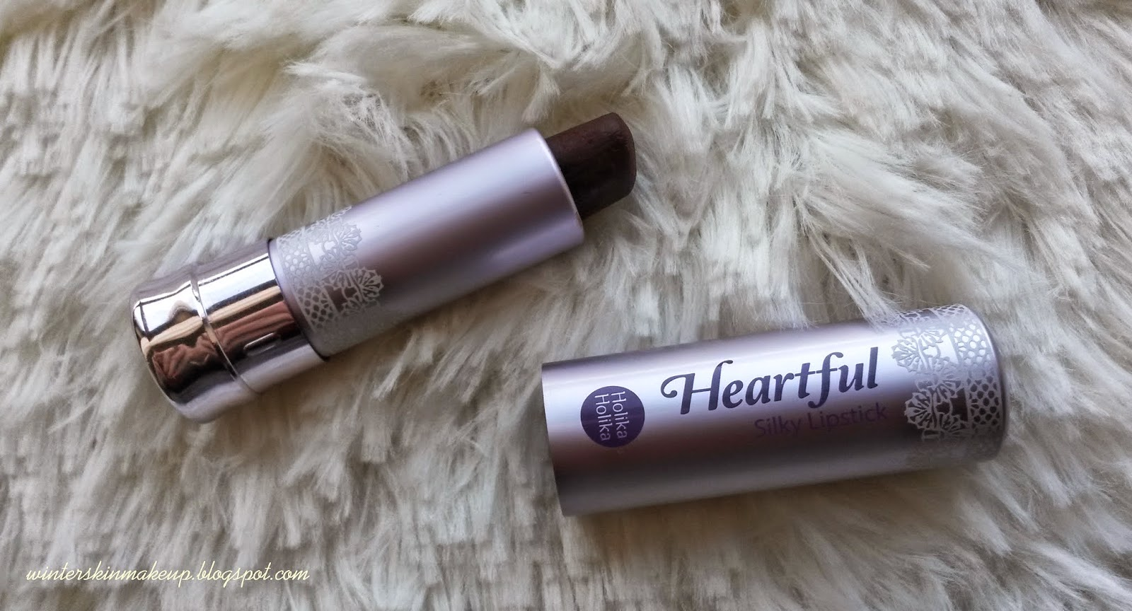 Holika Holika Heartfull Silky Lipstick in Lovely Vampire