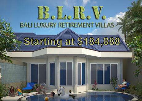 Bali Luxury Retirement Villas Start at $184,888