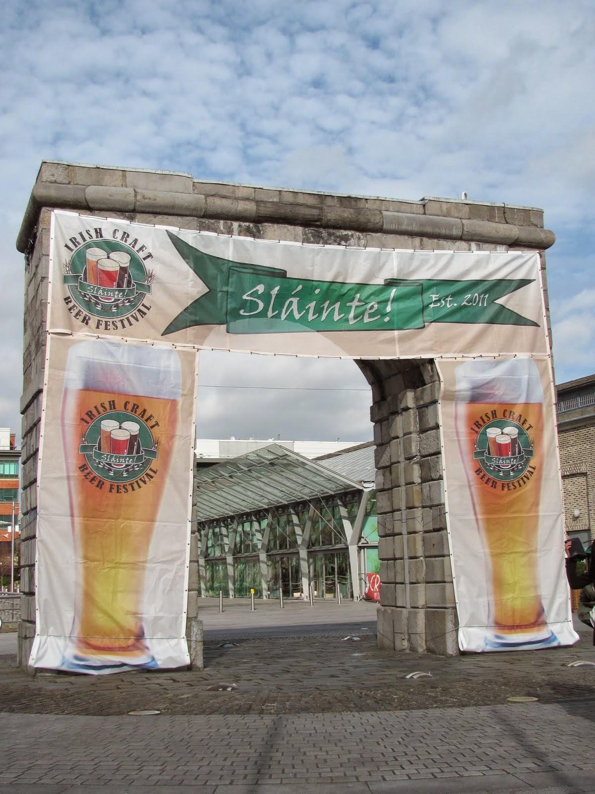 Craft Beer Festival Sign