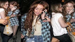 Miley Cyrus nuevamente ebria