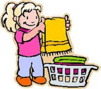 figured if I am doing the chores WITH THEM I can use that time to    Clean Child Clipart