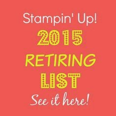 2015 Stamps and Accessories Retiring List
