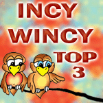 Incy Wincy Top 3