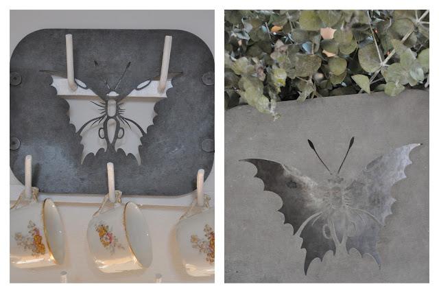 pochoir papillon